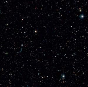 Gran Telescopio de Canarias: Bisher nur vermutete Galaxien wurden sichtbar gemacht und gezählt. Foto: IAC