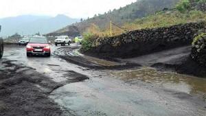 Starkregen auf La Palma: