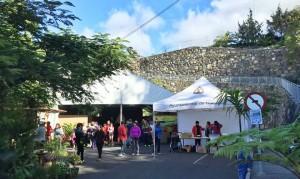 Tijarafe-Events: großes Zelt und eine Teleskopbühne angeschafft.