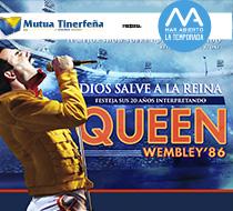 Fast wie das Original: Díos salve a la Reina.