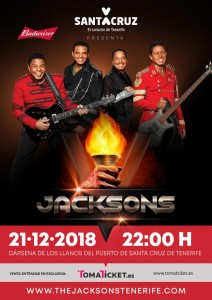 The Jacksons: Konzert auf Teneriffa!