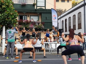 Santa Cruz de La Palma: Sportevents am laufenden Band. Foto: Stadt