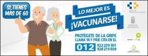 Grippeschutzimpfung: Ab dem 29. Oktober 2018 in den Centros Salud auf den Kanaren.