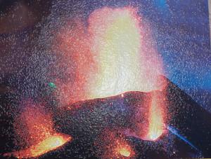28.000 Giga-Newton: Schafft das ein Vulkan? Foto: Centro Visitantes/Carracedo