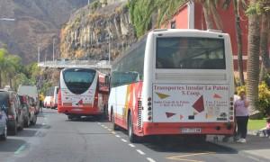 Drehkreuz Santa Cruz: Von hier aus fährt auch der Bus zum Flughafen. Foto: La Palma 24