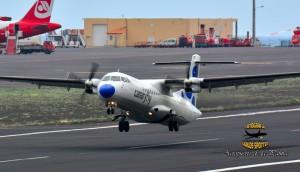 Canaryfly: täglich Flüge von SPC nach Teneriffa und Gran Canaria. Foto: Carlos Díaz