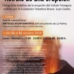 Vulkan Teneguía: Mittelpunkt einer Ausstellung in Fuencaliente.