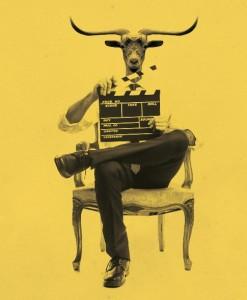 Witziges Plakat: Spot für Ziegenkäse aus La Palma gesucht.