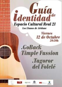 Los Llanos: Folklore mit Timple im Real 21.
