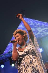 Musik vom Atlantik: Jenifer Solidade eröffnet die Gratis-Konzert-Reihe des Cabildos. Foto: Künstlerin