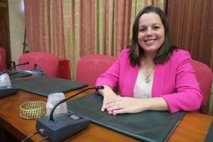 Inselbeschäftigungsrätin Laura Paz: gute Nachrichten in Sachen Fortbildung für Arbeitslose.