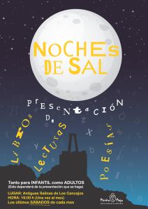 Salznächte in den Alten Salinen in Los Cancajos: Alles dreht sich ums Lesen.