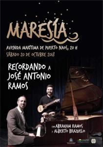 Musik am Meer: wieder ein Maresía-Konzert in Puerto Naos.