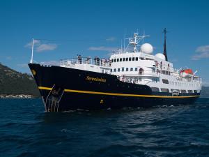 Serenissima muss in Santa Cruz zwischenstoppen: Keine Schikane, sondern EU-Recht. Foto: Reederei