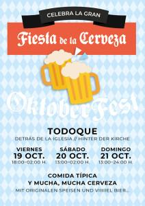 Oktoberfest: drei Tage Bierlaune in Todoque!