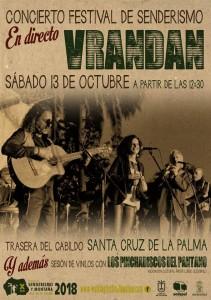 Vrandan: Beim Walking Festival La Palma wird auch Musik gemacht.