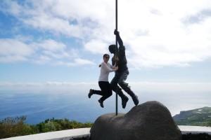 Witzig: Hirtensprung im Duett. Foto: Sabine