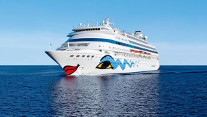 Die Aida Cara: Bisher verlief die Suche nach dem vermissten Passagier ohne Erfolg. Foto: Reederei
