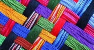 Textilausstellung in Tijarafe: Mode und Accessoires.