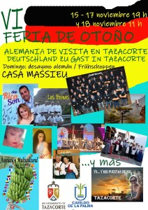 Herbstfest in Tazacorte: