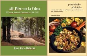 Die geplanten Bücher von Rose Marie Dähncke: Zwei der Cover sind schon fertig.