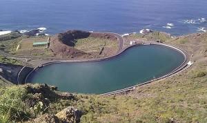 La Caldereta: Das Reservoir ist ein Sorgenkind.