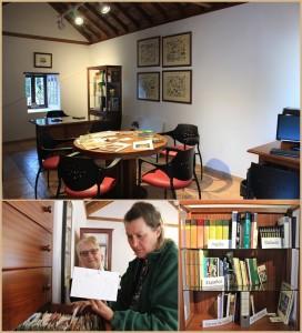 Das Pilzzentrum in Mazo: klein, aber fein mit den Schätzen von Rose Marie Dähncke. Fotos: La Palma 24