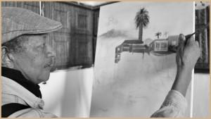 Reyes Hernández: Einer der drei Koordinatioren der Malervereinigung Aunarte. Foto: La Palma 24