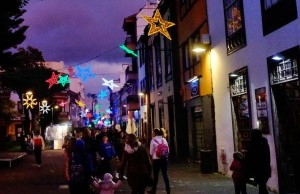 Vorweihnachts-Flair in den Gemeinden auf La Palma: Die Einkaufsbereich werden vom Cabildo gefördert. Foto: Los Llanos