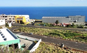Industriegebiet Mirca bei Santa Cruz: LEDs für die Straßen. Foto: Stadt