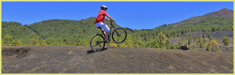 Mit dem E-Bike über die Isla Bonita: Fahrspaß für alle Alters- und Konditionsklassen.