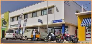 Das La Palma 24-Büro in Todoque: