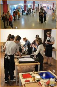 LiberArte: Kunst finden und bei Workshops Kunst produzieren. Fotos: Cabildo
