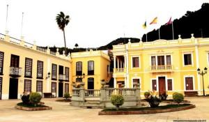 Rathaus von Mazo: auch virtuell erreichbar. Foto: Gemeinde
