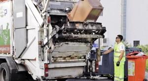 Müllmänner auf La Palma: Vertragsverhandlungen mit dem Cabildo laufen. Foto: Abfallwirtschaftsbetrieb