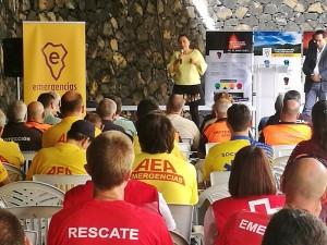 Ehrung der NotfallhelferInnen: Der Dank kommt von der ganzen Insel! Foto: Cabildo