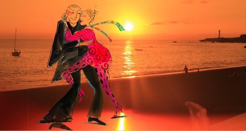 Regina und Rainer Tamkus machen zum Jahreswechsel eine Woche Ferien auf La Palma, aber die beiden Tangolehrer und Tanzveranstalter aus Berlin-Friedrichshagen können selbst im Urlaub die Füße nicht still halten: Sie haben drei Milongas organisiert, wobei alle Leute eingeladen sind, die gerne den Tango tanzen. Los geht´s am Freitag, 28. Dezember 2018, um 20.30 Uhr in Lalys Bar Bucanero in Puerto Naos. Die nächste Milonga findet am Sonntag, 30. Dezember, um 18 Uhr im Restaurante Las Norias statt, und zum Abschluss wird am Mittwoch, 2. Januar 2019, um 19 Uhr im Casino in Los Llanos das Tanzbein geschwungen. Die Veranstaltungen dauern jeweils circa drei Stunden, kosten keinen Eintritt, allerdings geht ein Spendenhut um.