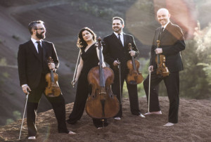 Am Freitag im Teatro Circo de Marte: Das Streich-Ensemble Quarteto Quiroga. Foto: