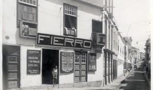 Casa Fierro in den 1940er-Jahren: 2019 wird das Unternehmen mit der Medaille in Gold der Stadt Santa Cruz geehrt.