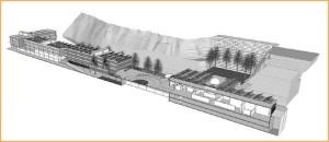 Modell des Technologie-Parks Breña Baja: Noch ist die Finanzierung nicht abgeschlossen.