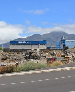 Ein erster Erfolg: Die Betriebsgenehmigung des UNASPA-Asphaltwerks ist nichtig. Allerdings wird der Betreiber voraussichtliclh Rekurs einlegen. Foto: La Palma 24