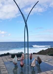 Mirador Literario de San Mao an der Küste von Barlovento: Hommage an eine große Liebe auf La Palma.