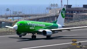 Die Germania-Flieger bleiben in der Luft: Dank einer 15 Millionen-Euro Spritze von Investoren ist der Fortbestand der Airline gesichert. Foto: Carlos Díaz
