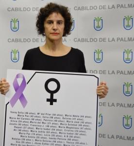 Jovita Monterrey: Die Inselsozialrätin setzt sich gegen Gewalt an Frauen ein.