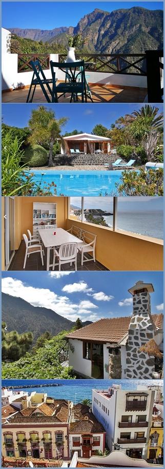 Häuser und Apartments am Meer, in der Stadt oder in den Bergen: Das La Palma 24-Ferienunterkünfte-Portal bietet eine Auswahl von mehr als 400 Objekten!