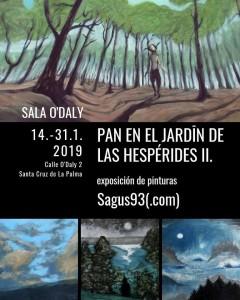 Sala O´Daly: Gemälde mit Pan.