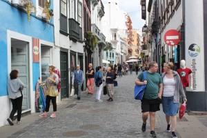 Santa Cruz: In der Fußgängerzone Calle Real, an der Puente und in der Avenida Marítima ging der Firmengründungsboom 2018 weiter. Foto: Stadt