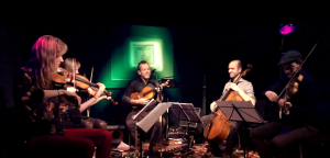 On tour: Roland Satterwhite & The North Sea String Quartet.