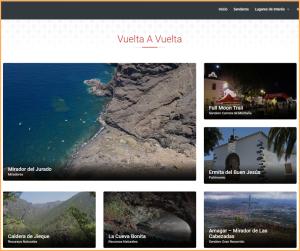 Neu auf Spanisch, Deutsch und Englisch: Touristeninfos von Tijarafe im Internet.