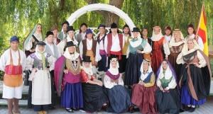 Echentive: Die Folkloregruppe tritt zum Geburtstag von Fuencaliente auf. Foto: Agrupación